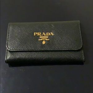 Prada Key Holder Wallet